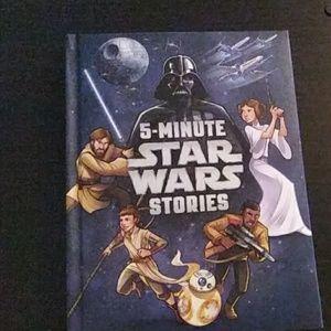 5 minute star war stories book